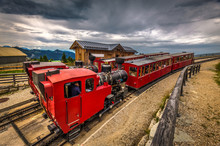 Alpine Rack Railway Track To S...