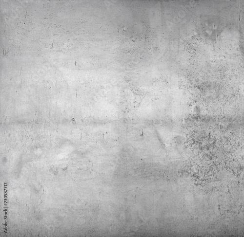Poster de jardin Metal concrete wall texture