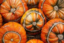"Pumpkins - ""Turks Turban"" Or French Turban Squashes"