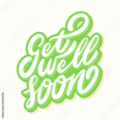 Get well soon card. Tapéta, Fotótapéta