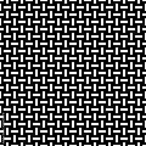 Seamless woven stripes lattice pattern Wallpaper Mural