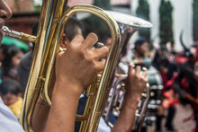 Trompeta, Instrumento De Vient...