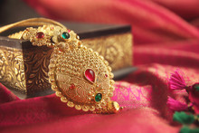 Indian Traditional Gold Neckla...