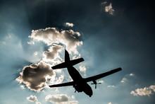 C-160 Transall Aircraft Silhouette