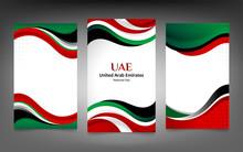 United Arab Emirates Banner Ba...