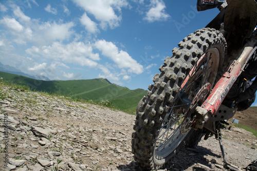 Foto op Canvas Motorsport Moto da enduro