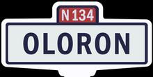 OLORON - Ancien Panneau Entré...