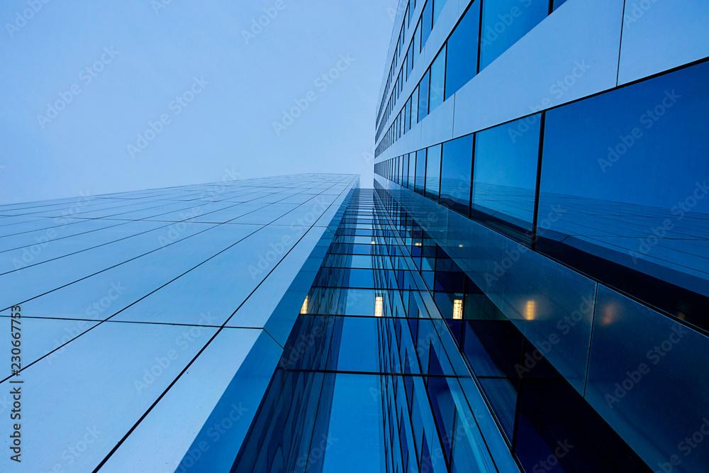 Fototapety, obrazy: Struktur, moderne Hochhausfassade