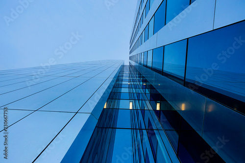 Carta da parati Struktur, moderne Hochhausfassade