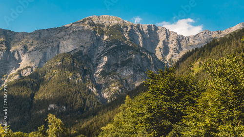 Spoed Foto op Canvas Grijze traf. Beautiful alpine view near Saalfelden - Salzburg - Austria