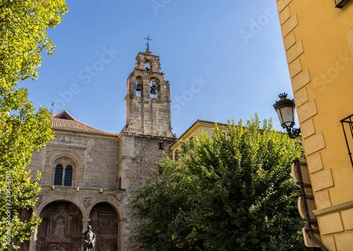 Fotografie, Obraz  Medieval church in downtown Granada, Spain
