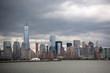 new york skyline of city