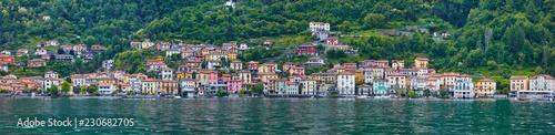 Fotografie, Obraz Comer See-Panorama, Lezzeno