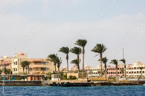 In de dag Cyprus Red sea coast near Hurghada