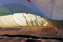 Inside Hot Air Balloon With Sh...