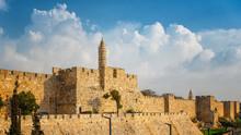 Walls Of Ancient City Of Jerus...