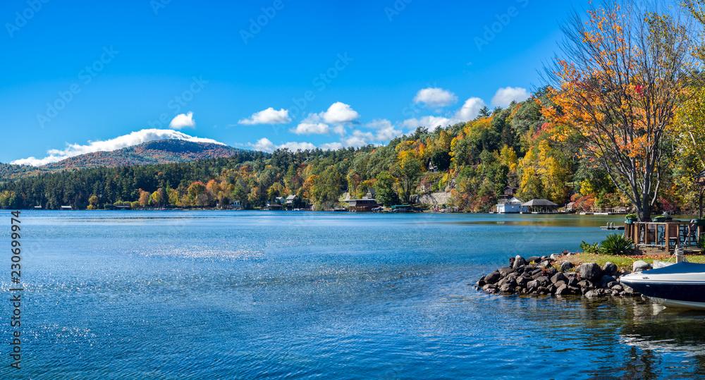Fototapety, obrazy: Lake George Fall Landscape