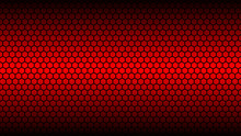 Honey Comb Red Background