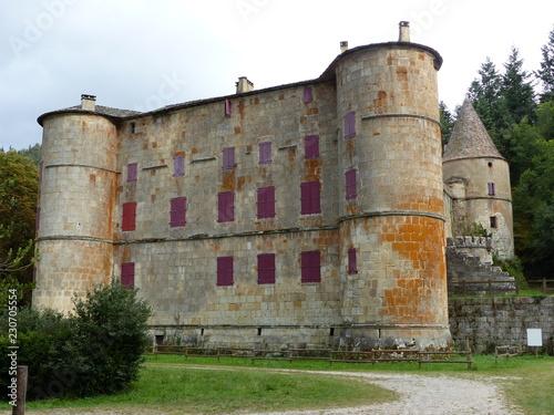 Foto op Aluminium Kasteel Château de Roquedols