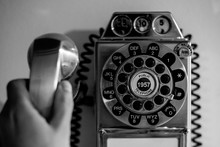 Vintage Old Wall Telephone