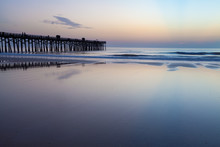 Dawn And Sunrise At Flagler Be...