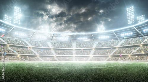 Soccer stadium Fotobehang