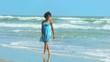 Beautiful Girl Loving Vacation Lifestyle