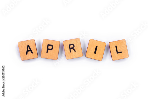 Fotografie, Obraz  The month of APRIL
