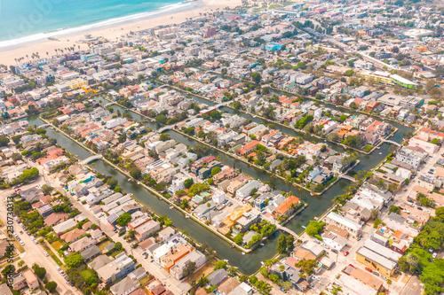Fototapeta Venice beach canals  obraz na płótnie