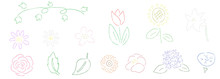 植物 手描き