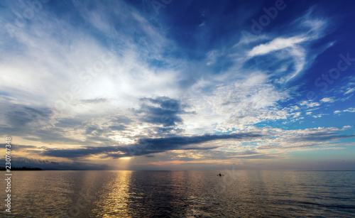 Java Sea before Sunset