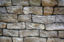 Masonry With Hewn Stones