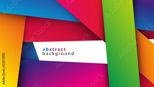 kolorowe pasy tło wektor - fototapety na wymiar
