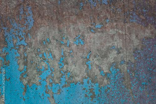 ciemny-beton-z-niebieskimi-plamami