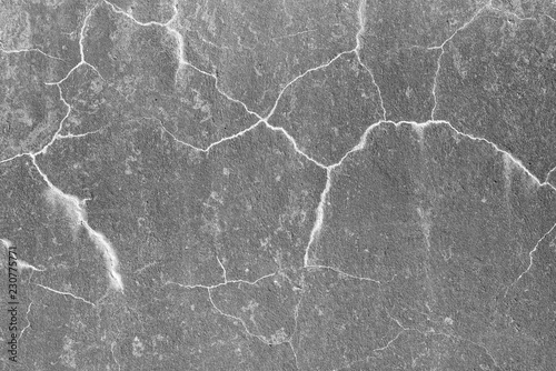 Surface and texture of cracked concrete wall for background Canvas Print