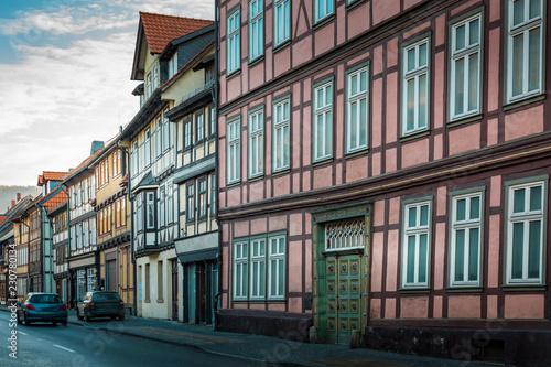 Foto  Alte Fachwerkfassade im Harz