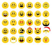 Vector Set Of Emoji. Collectio...