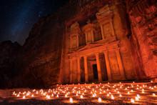 Petra By Night, Jordan