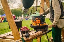 Koch Im Mittelalter Lager