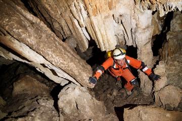 Fototapeta Caving in Spain