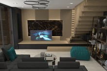 Interior Visualization, 3D Illustration