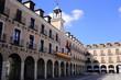 Plaza Mayor de Ocaña provincia de Toledo España