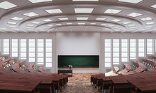 Inside An Auditorium 3d Render...
