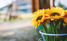 Artificial Sunflowers With Sof...