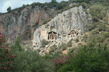 Dalyan Caunos Rock Tombs