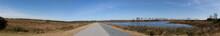 Assateague Island Wetland Panorama.