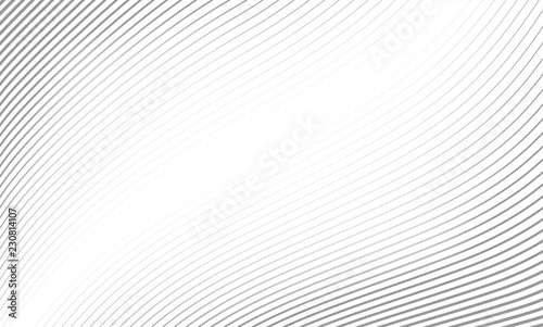 Obraz Vector Illustration of the pattern of gray lines abstract background. EPS10. - fototapety do salonu