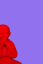 D Rendering, Buddha Keeping Silence