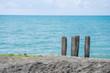 breakwaters by the sea