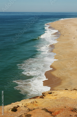 Beautiful ocean beach in Portugal